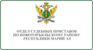 Отдел судебных приставов по Новоторъяльскому району Республики Марий Эл